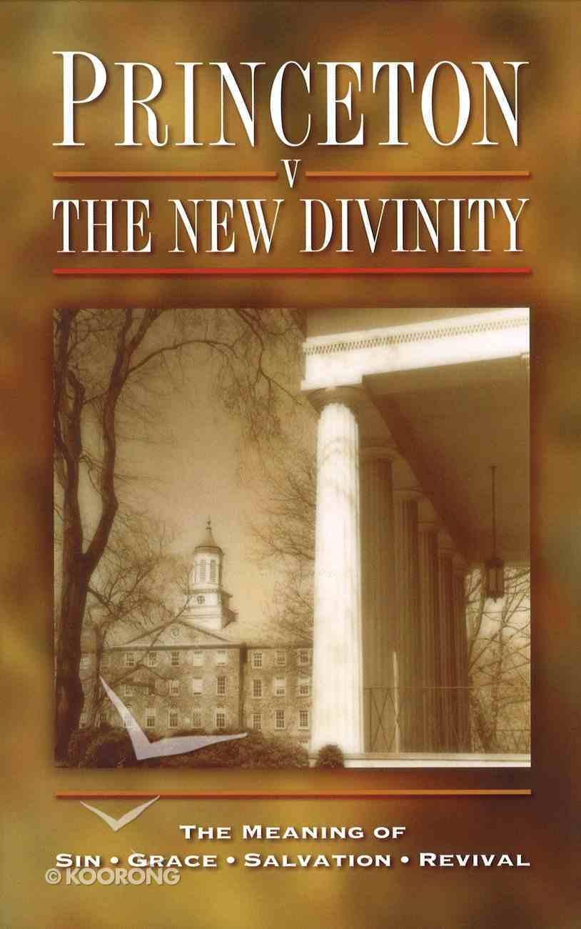 Princeton Versus the New Divinity Hardback
