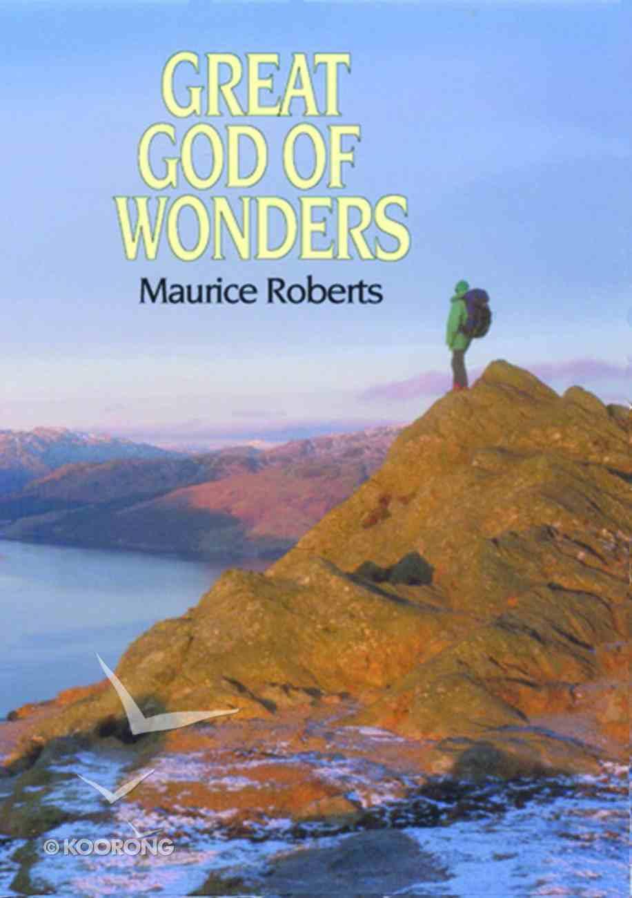 Great God of Wonders Paperback