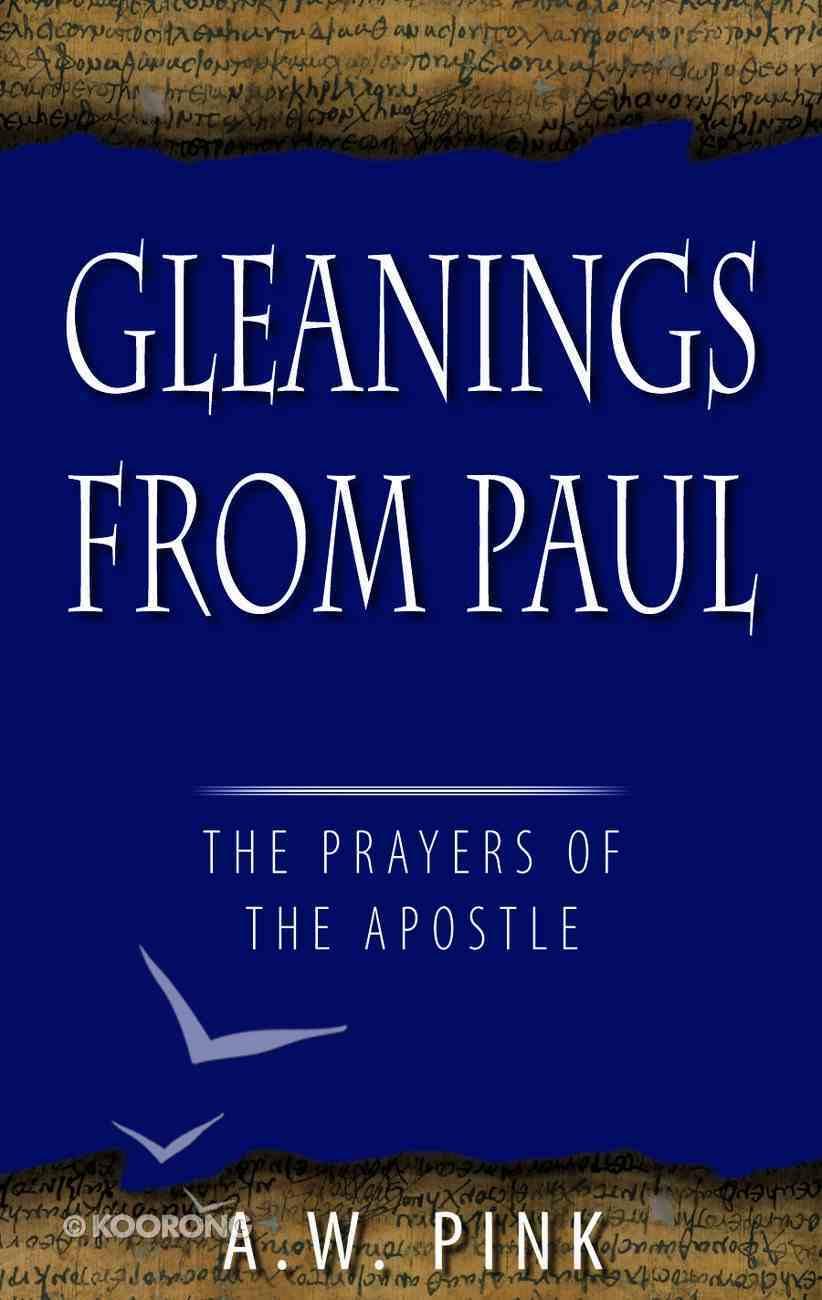 Gleanings From Paul Hardback