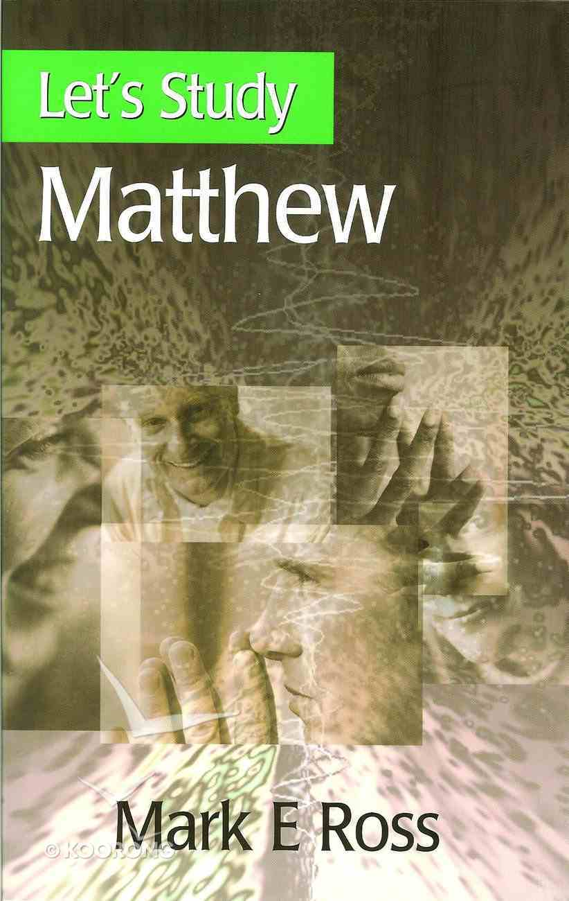 Matthew (Let's Study (Banner Of Truth) Series) Paperback