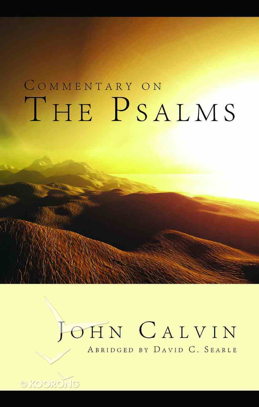 Commentary on the Psalms Hardback