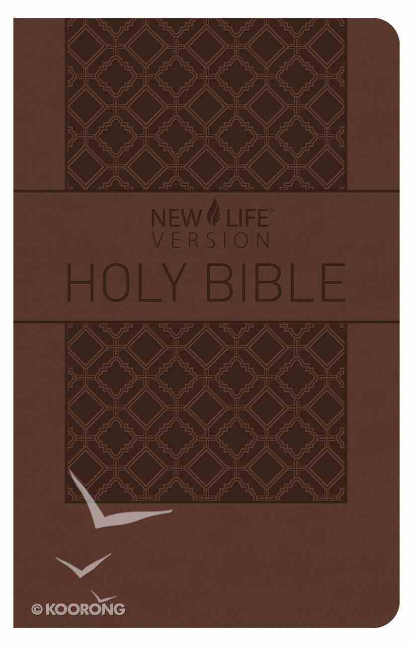 Nlv Holy Bible Brown Imitation Leather
