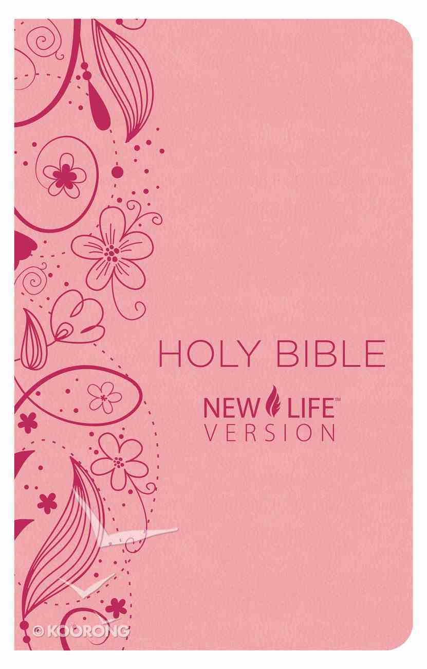 Nlv Holy Bible Pink Paperback