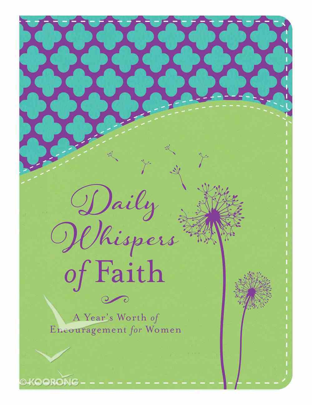 Daily Whispers of Faith Imitation Leather