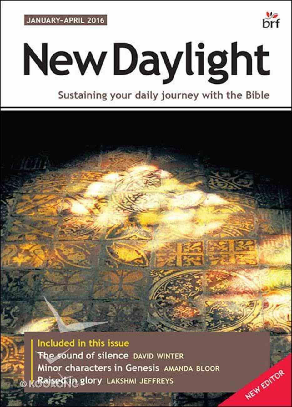 New Daylight 2016 #01: Jan-Apr Paperback