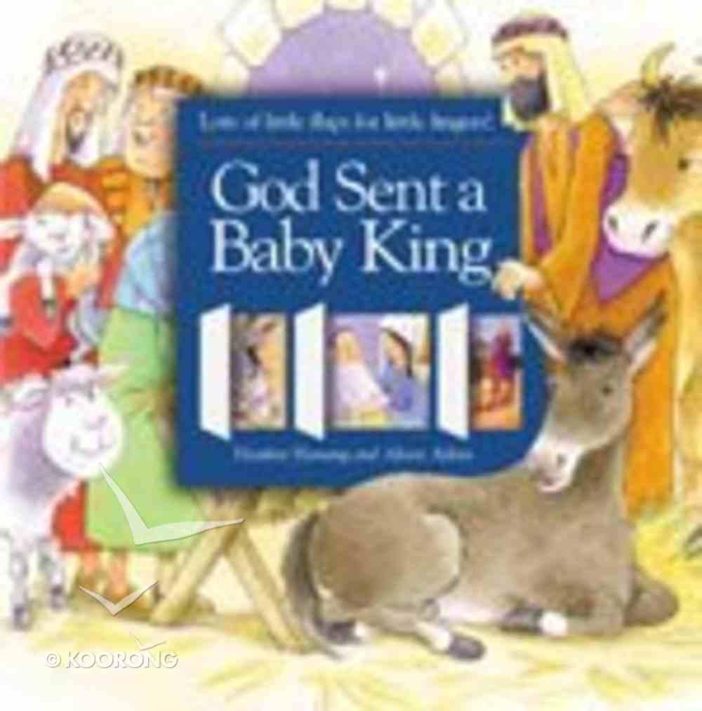 God Sent a Baby King Hardback