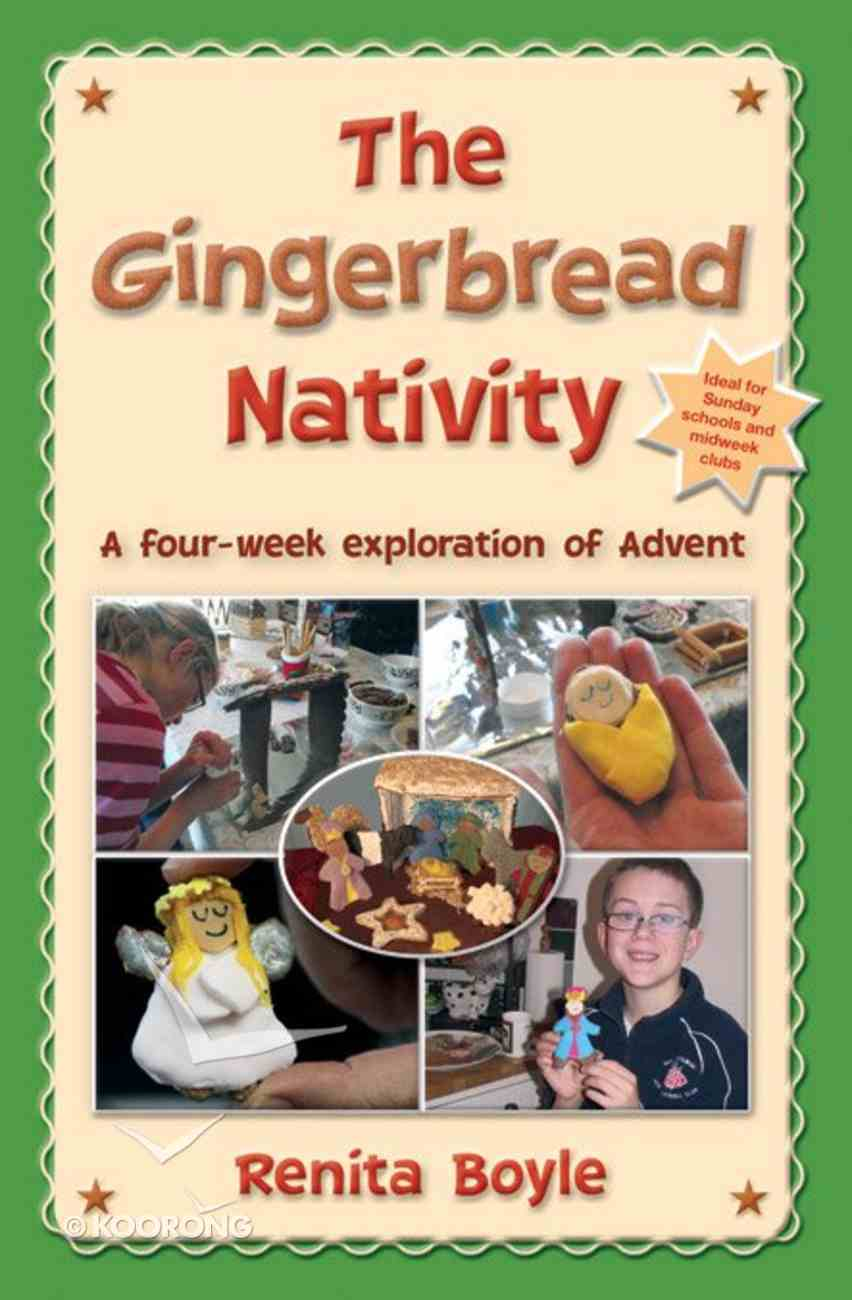 The Gingerbread Nativity Paperback