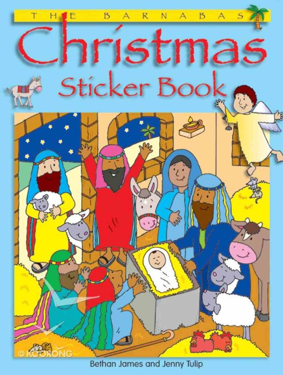 The Barnabas Christmas Sticker Book Paperback