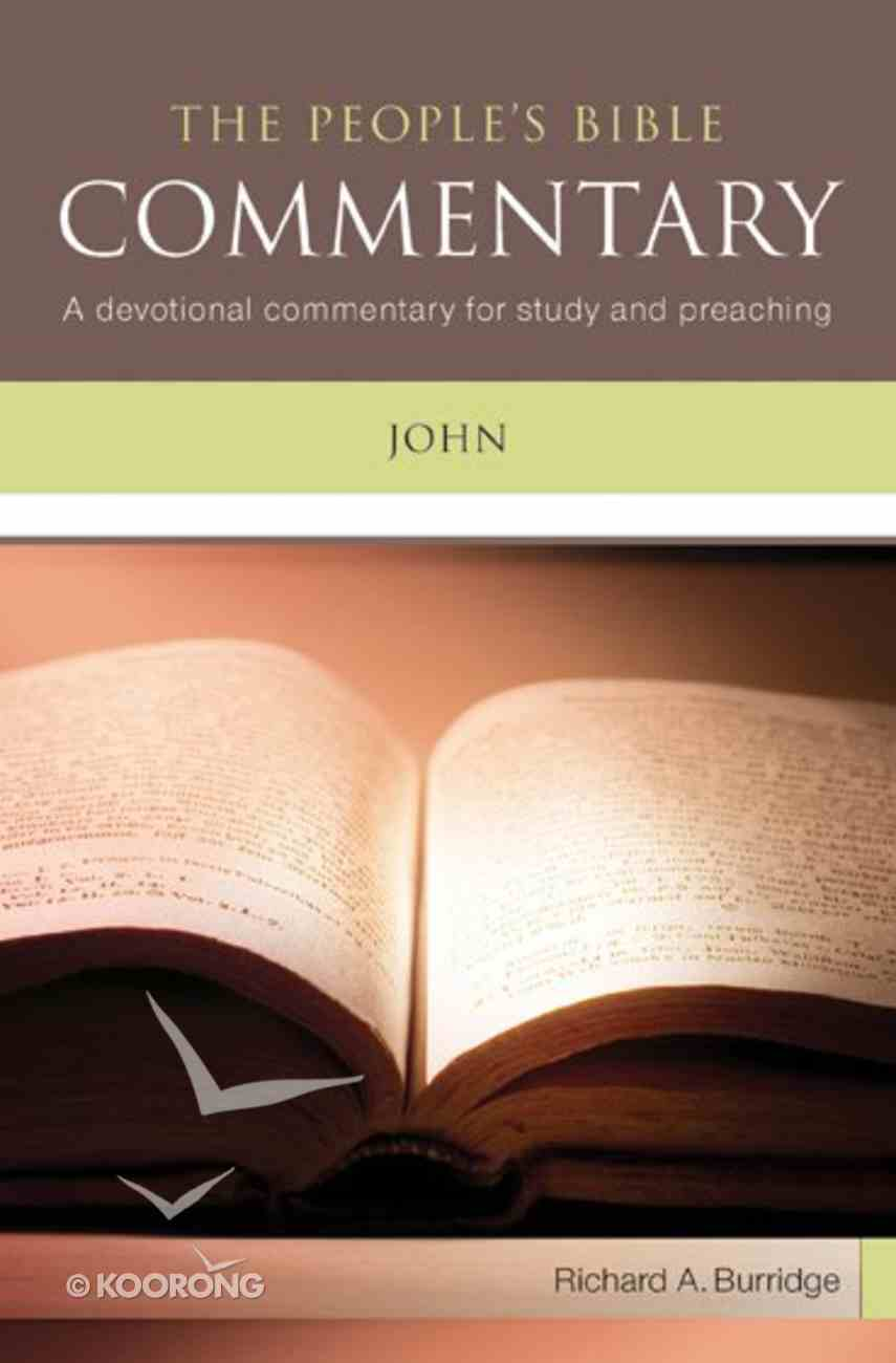John (People's Bible Commentary Series) Paperback