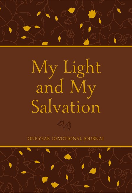 Product: My Light And My Salvation: One Year Devotional Journal Image
