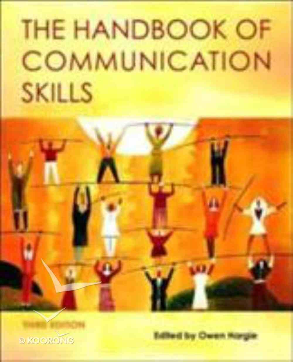 Handbook of Communication Skills Paperback