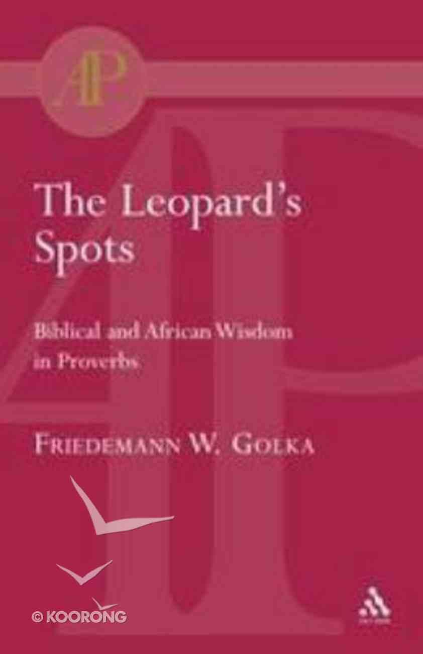 The Leopard's Spots Paperback