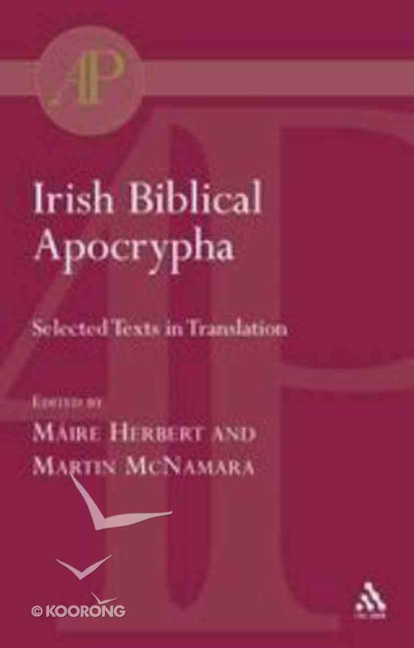 Irish Biblical Apocrypha Paperback