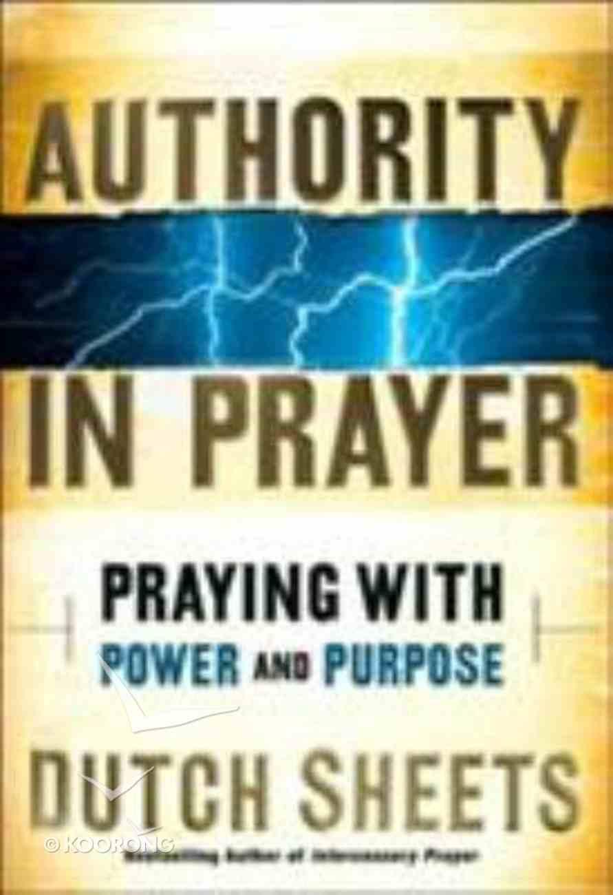 Authority in Prayer Hardback