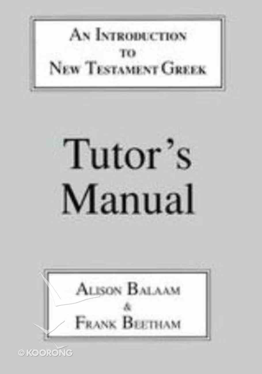Introduction to New Testament Greek Paperback