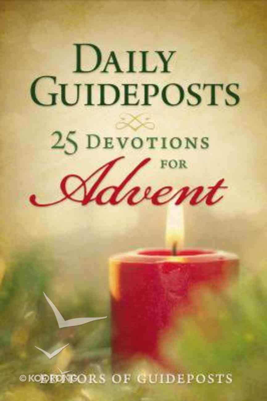 Daily Guideposts: 25 Devotions For Advent eBook