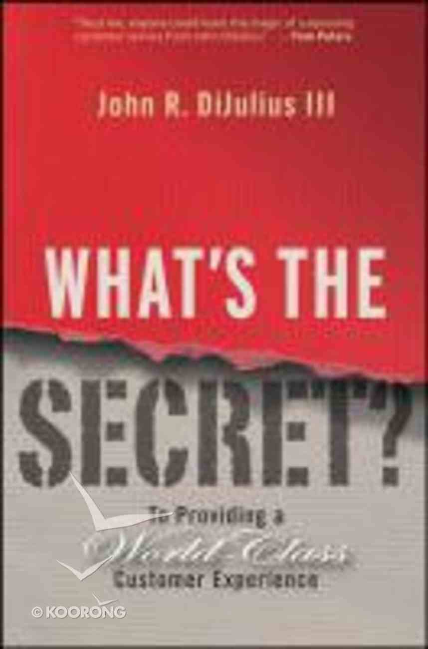 What's the Secret? Hardback