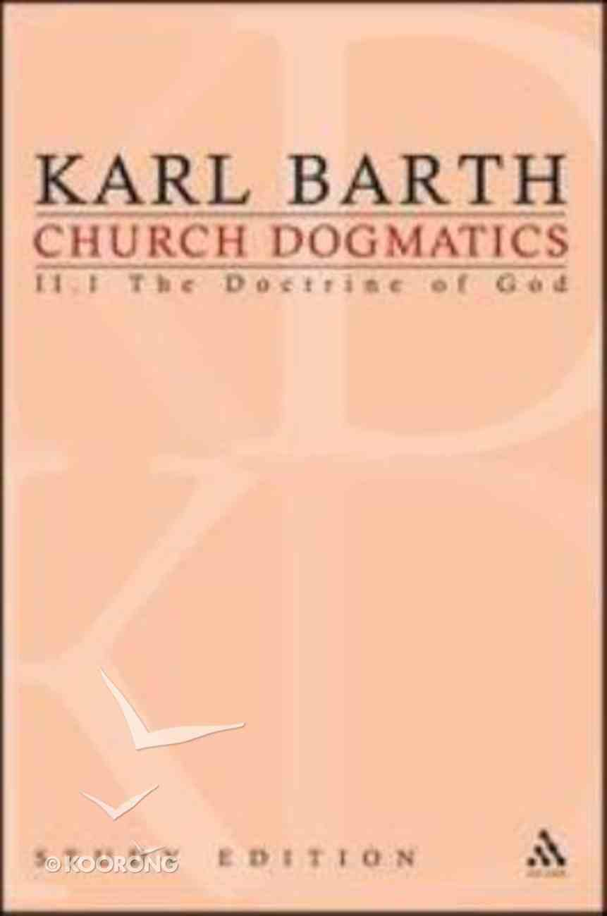The Reality of God II (Church Dogmatics Study Edition Series) Paperback
