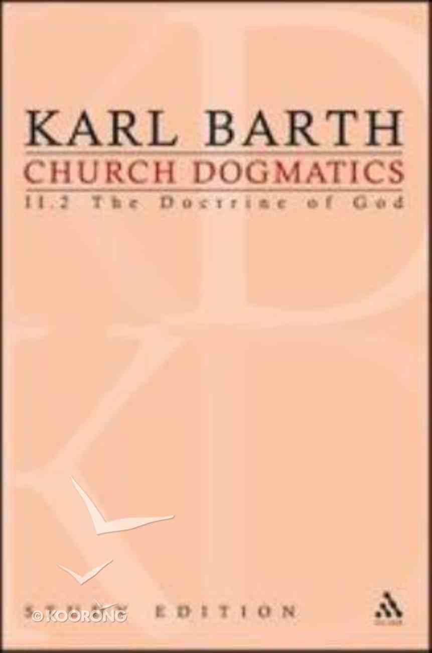 The Command of God (Church Dogmatics Study Edition Series) Paperback