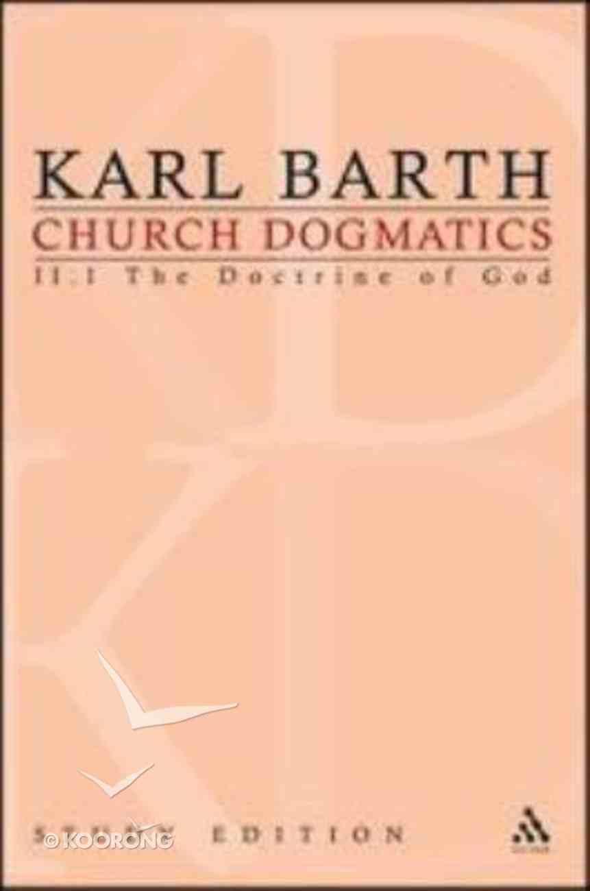 The Reality of God I (Church Dogmatics Study Edition Series) Paperback