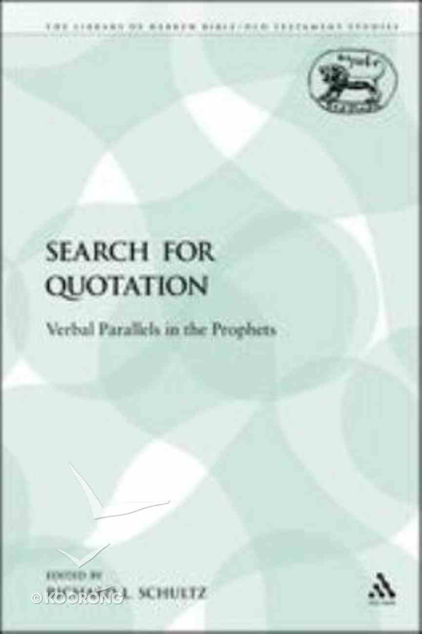 Lhbots: Search For Quotation Paperback
