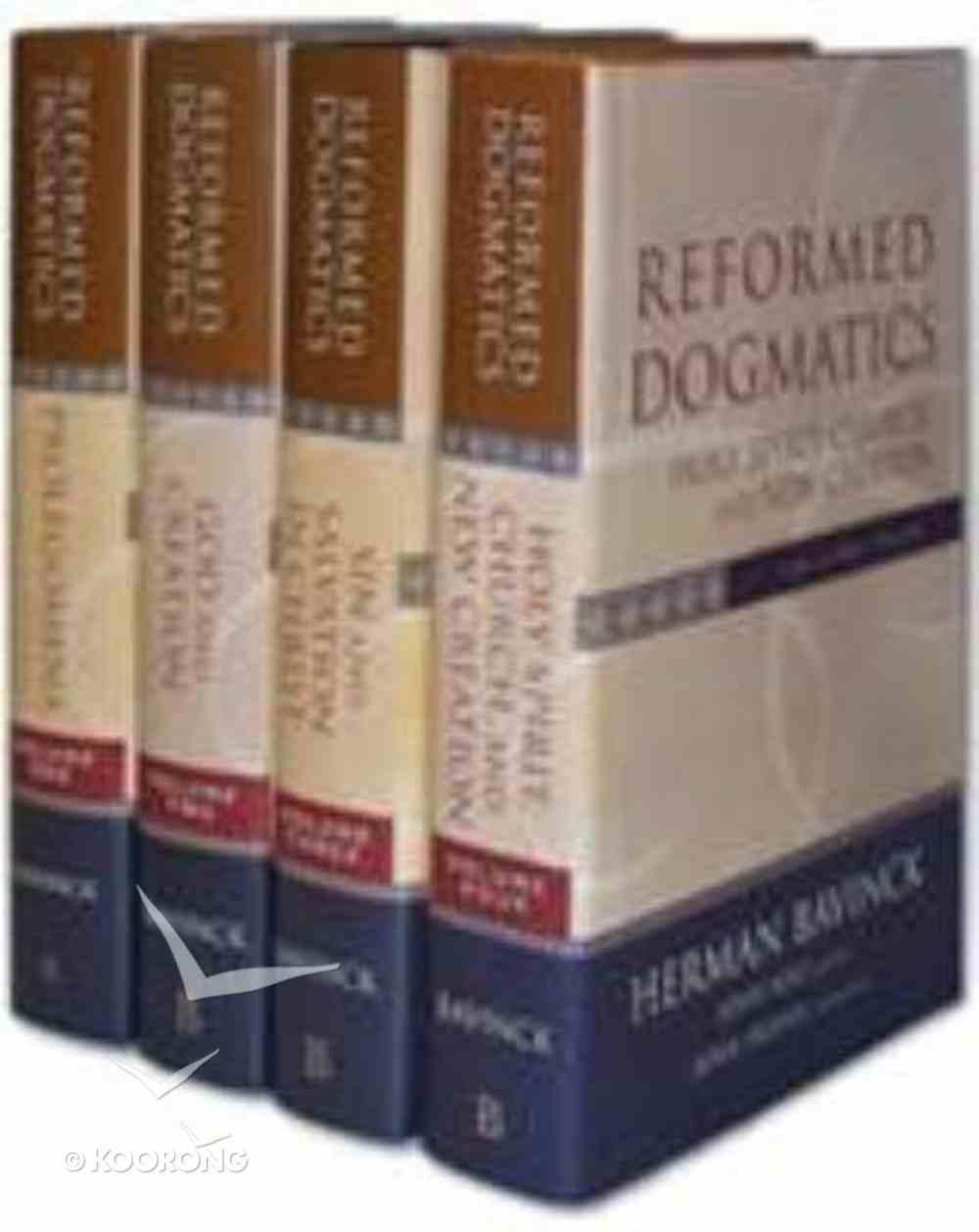 Reformed Dogmatics (Volumes 1-4) Hardback