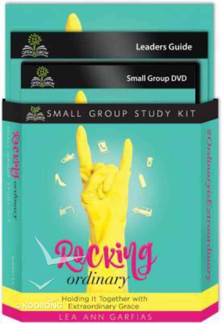Rocking Ordinary (Small Group Kit: Leader Guide, Book, Dvd) Pack