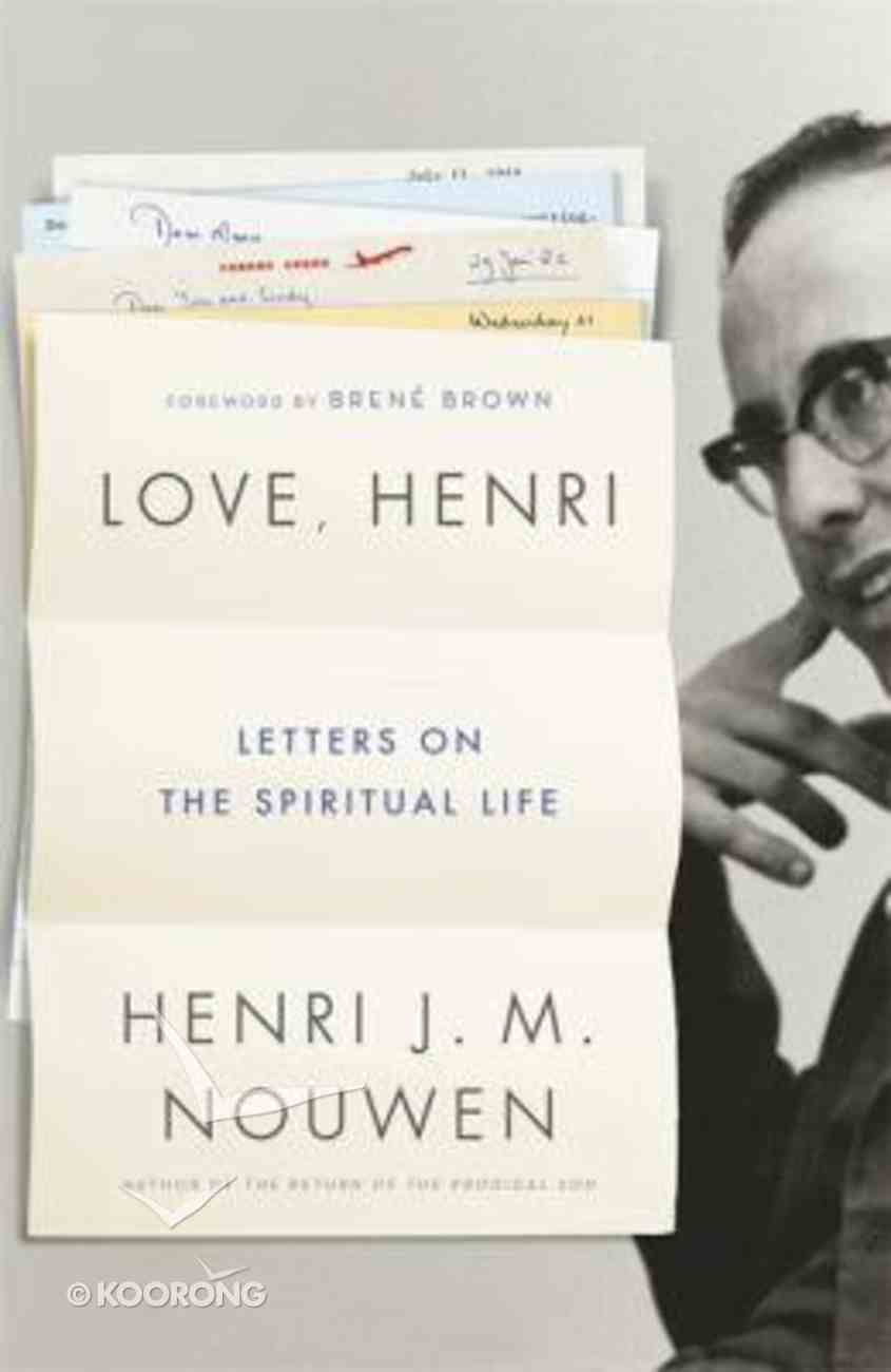 Love, Henri: Letters on the Spiritual Life Hardback