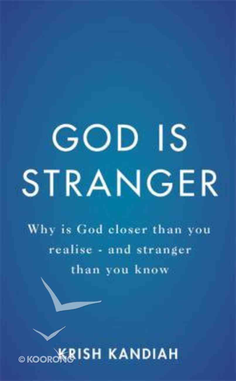 God is Stranger Paperback