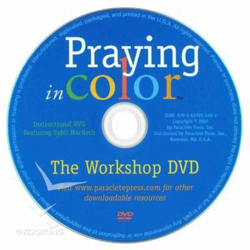 Praying in Color: Drawing a New Path to God DVD