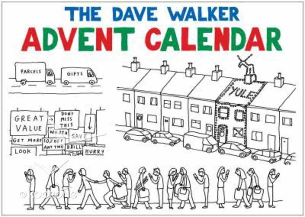 The Dave Walker Advent Calendar Spiral