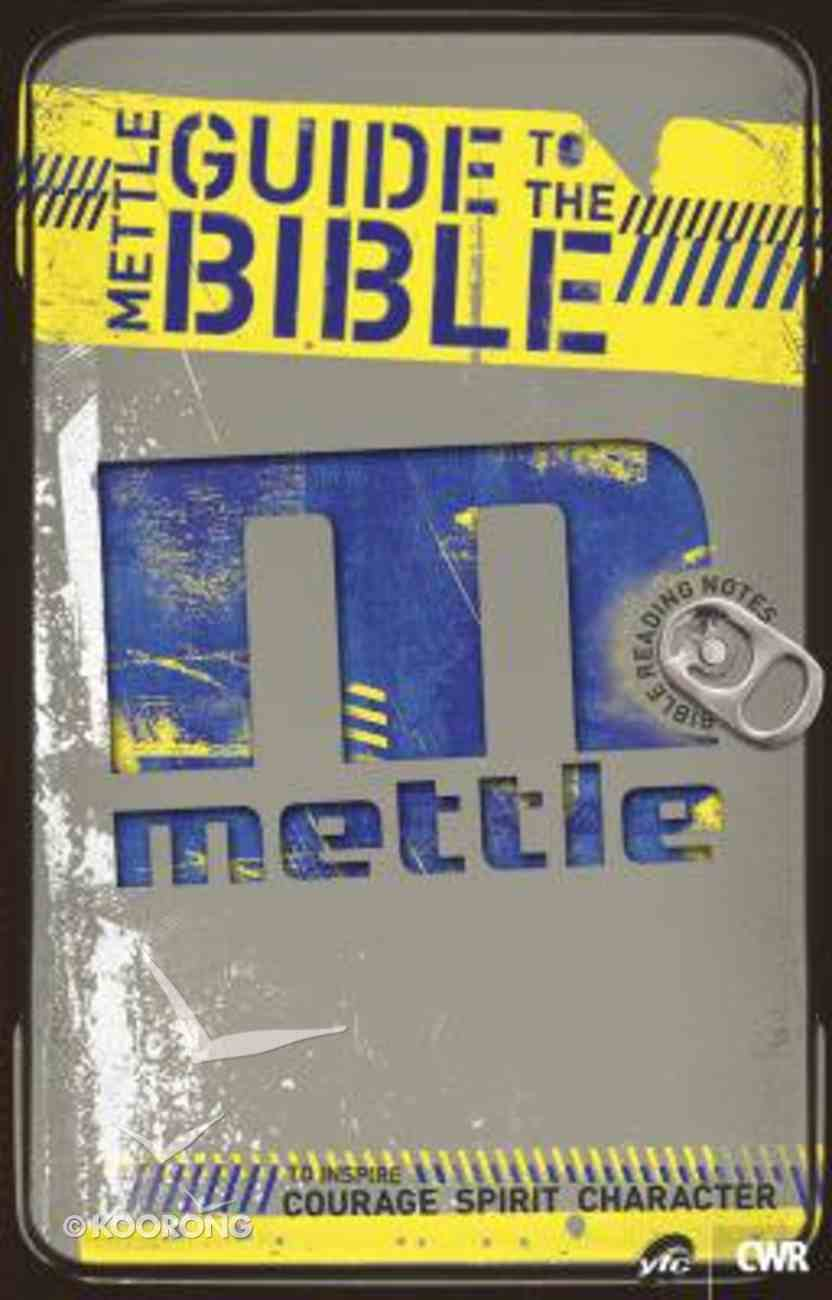Mettle Guide to the Bible Paperback
