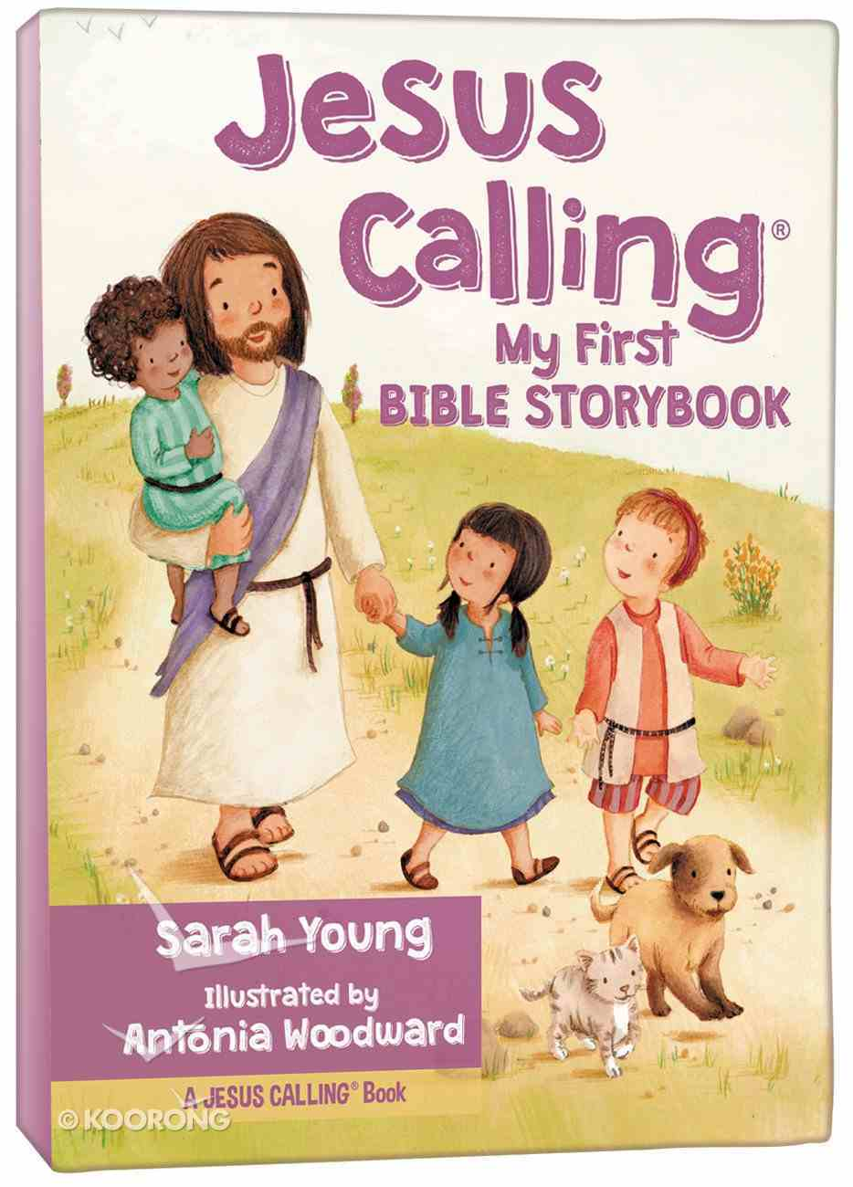 Jesus Calling: My First Bible Storybook Board Book
