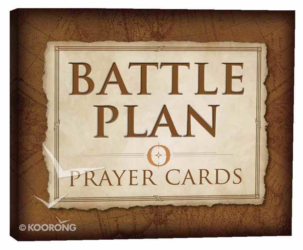 The Battle Plan Prayer Cards (40 Cards) Cards
