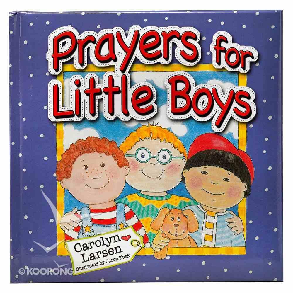 Prayers For Little Boys Hardback