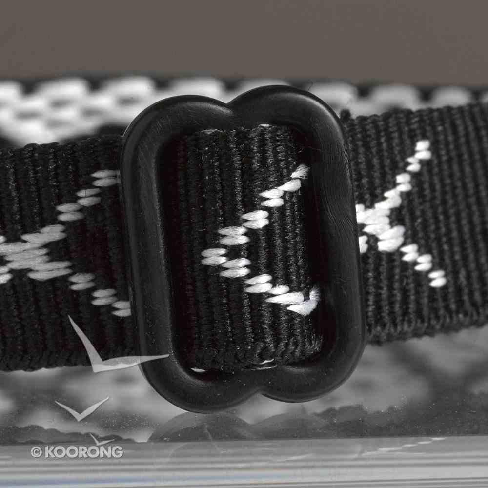 Wristband: Fish Black Jewellery