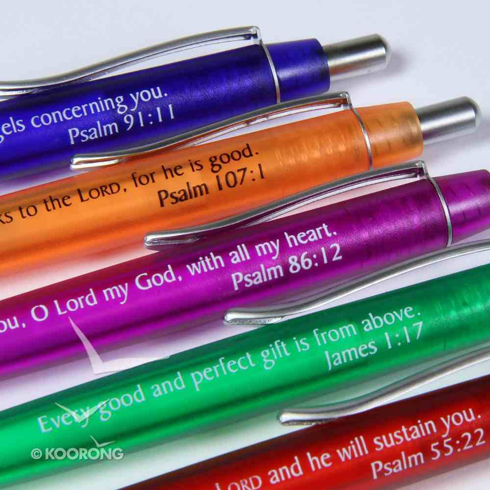 Ballpoint Pen: Scripture on Each Pen, Single Pen Stationery