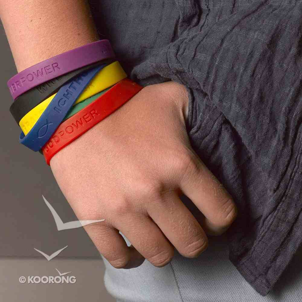 Silicon Wristband: Powerbands - Assorted Colors & Designs Novelty