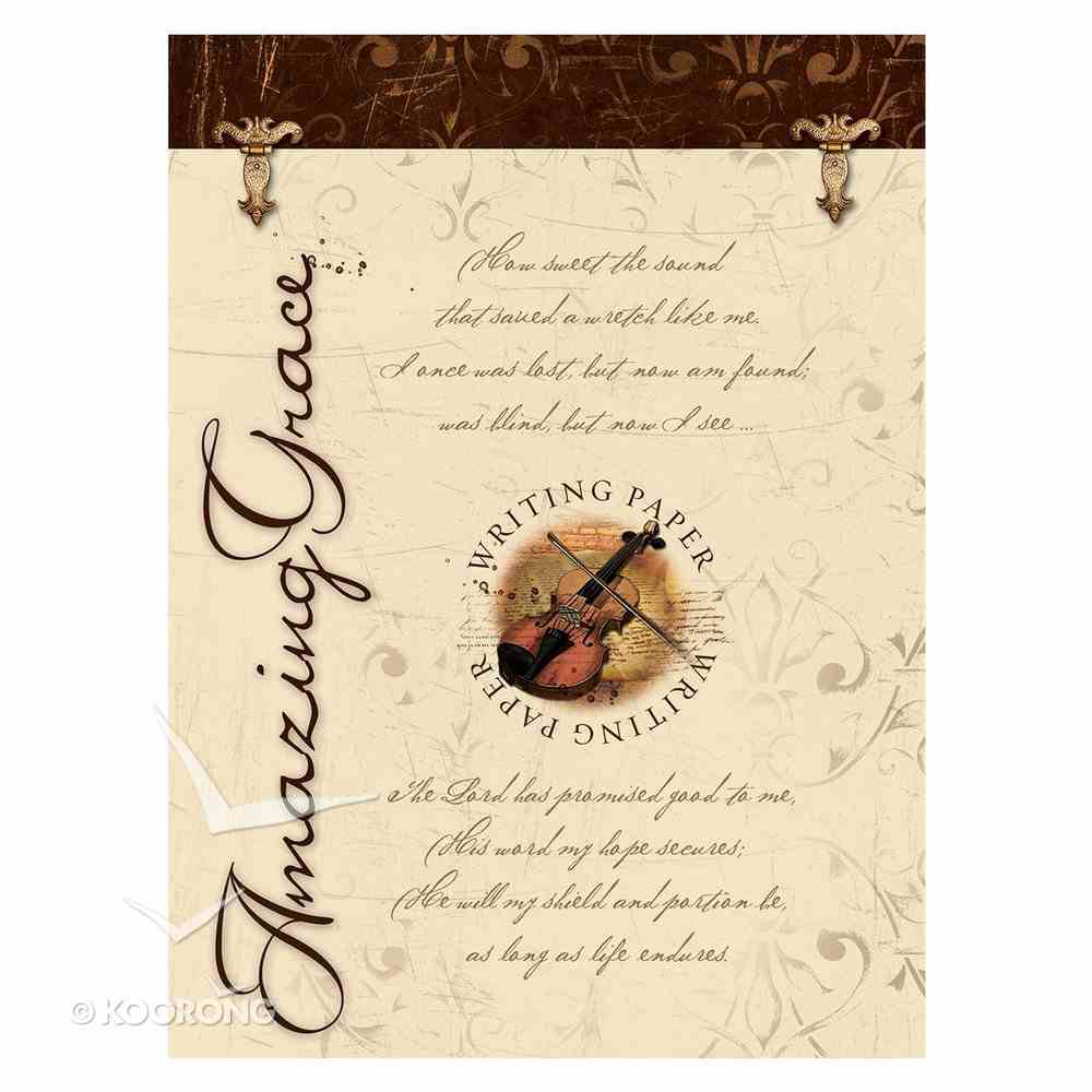 Writing Paper: Amazing Grace Stationery
