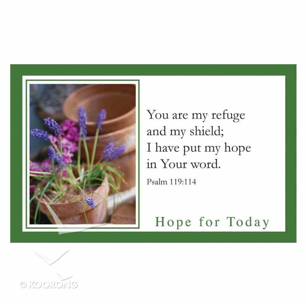 Faithbuilders: Hope For Today, Pack of 20 Cards (5 Each Of 4 Designs) Cards