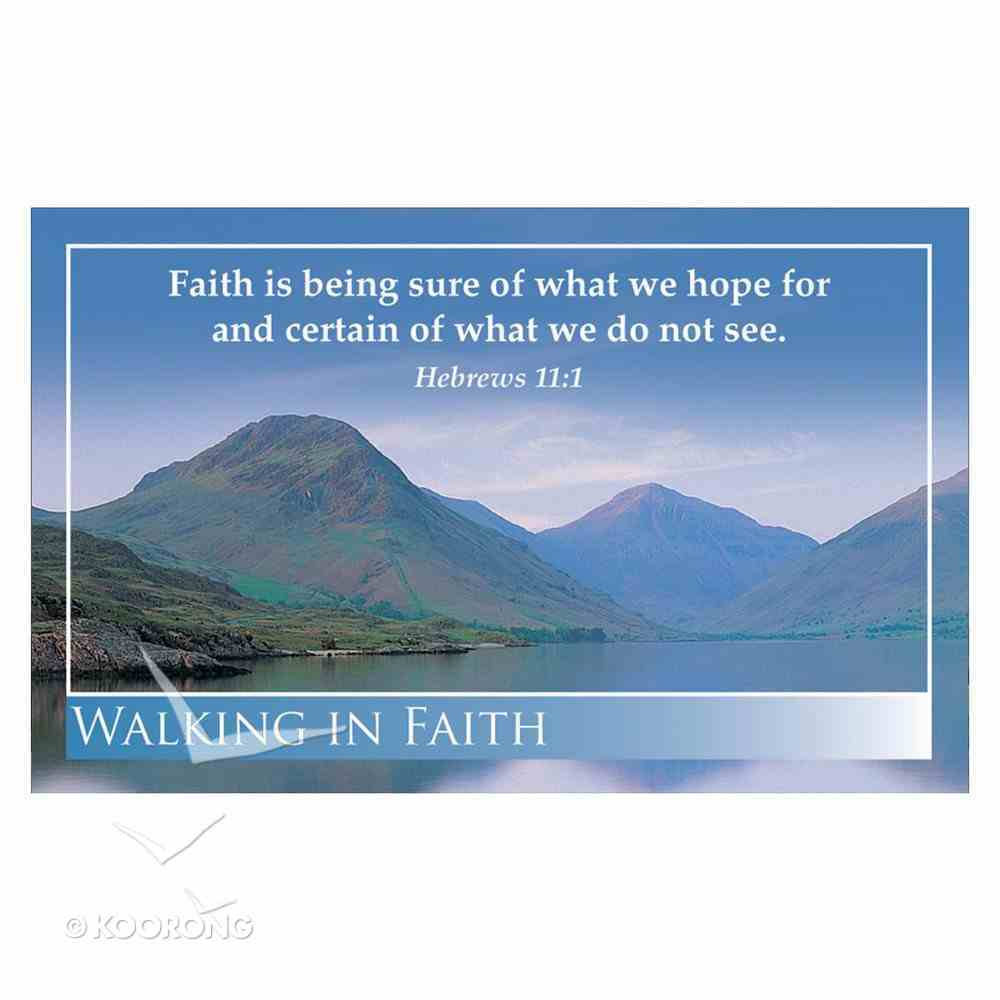 Faithbuilders: Walking in the Light, Pack of 20 Cards (5 Each Of 4 Designs) Cards
