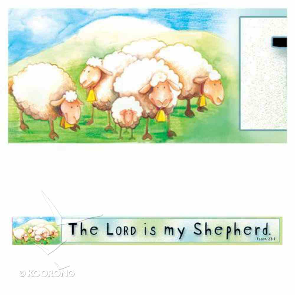 Magnet Strip: The Lord is My Shepherd Novelty