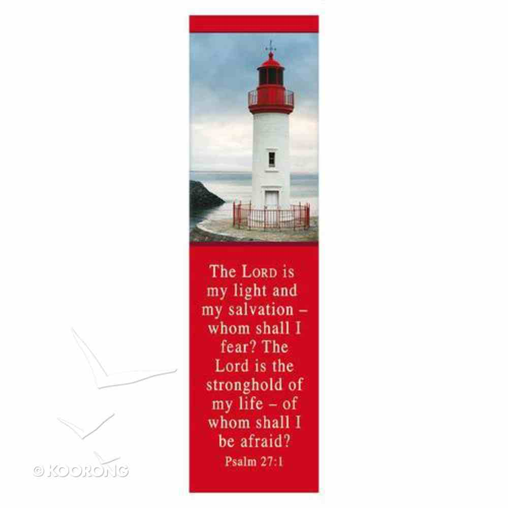 Bookmark: The Lord is My Light and My Salvation (Pack 10) Stationery