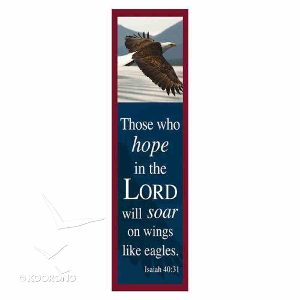 Bookmark: Those Who Hope in the Lord, Will Soar on Wings Like Eagles (Pack 10) Stationery