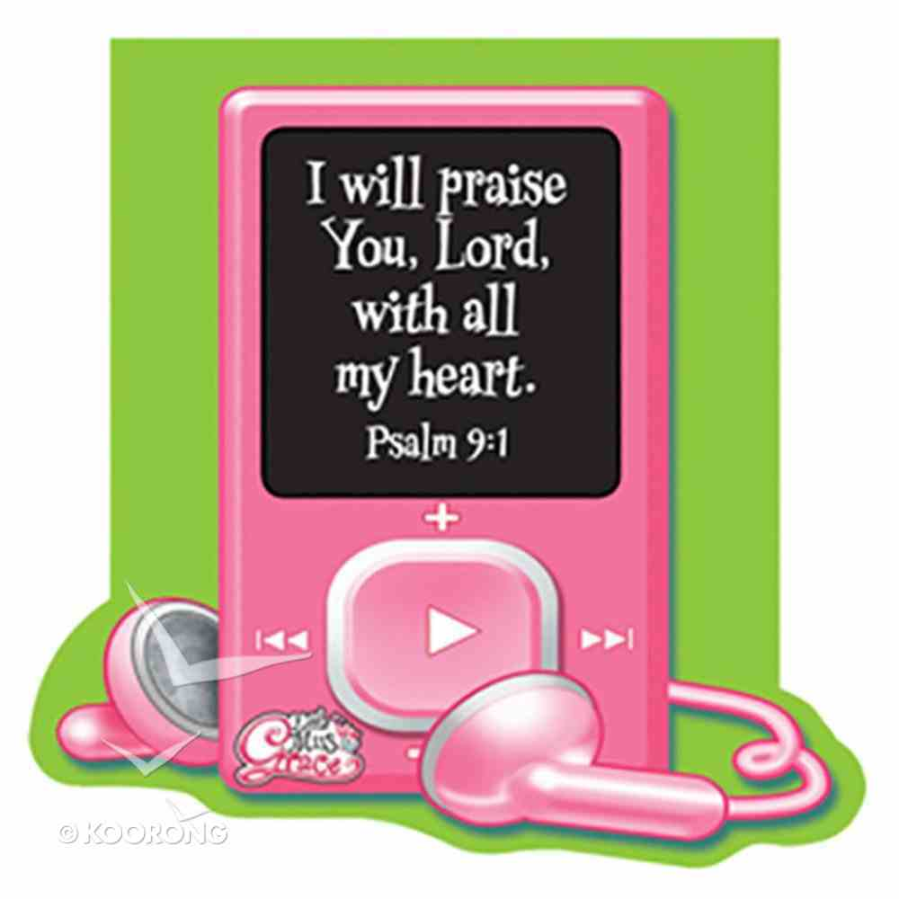 Notepad Die-Cut: I Will Praise You Lord (Little Miss Grace) Stationery