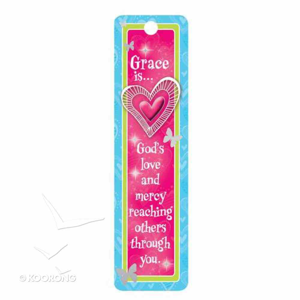 Bookmark Beaded: Grace Is..... (Little Miss Grace) Stationery