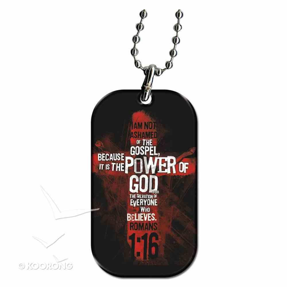 Witness Gear Dog Tags: Power of God Jewellery