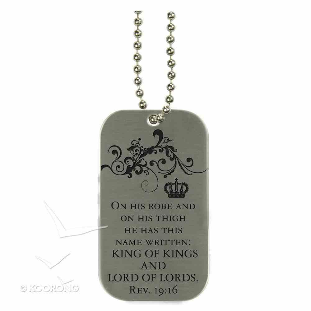 Witness Gear Dog Tags: Jesus Jewellery