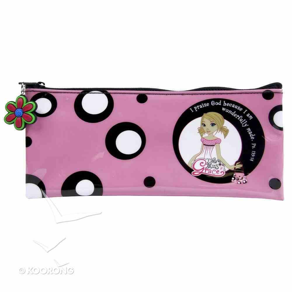 Pencil Case: I Praise God (Little Miss Grace) (Pink) Stationery