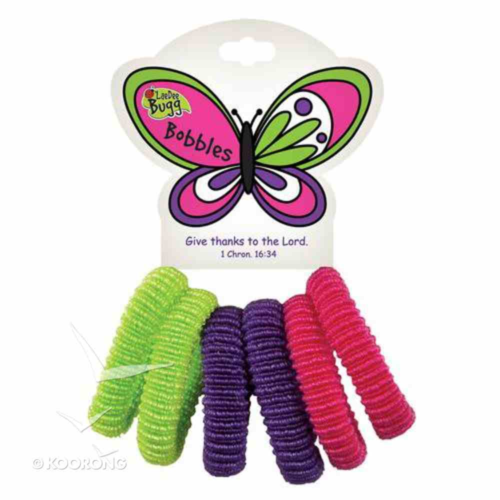 Hair Accessories: Laedee Bugg Butterfly Bobbles Novelty
